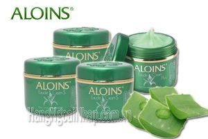 Tác dụng kem dưỡng da aloins trong việc chống lão hóa