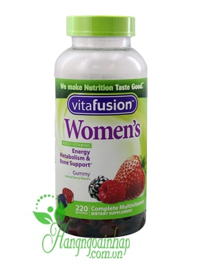 Vitafusion women's multivitamin 220