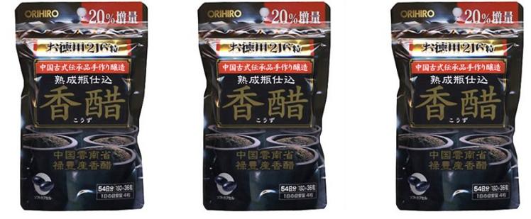 Cách sử dụng dấm đen Nhật Bản giảm cân