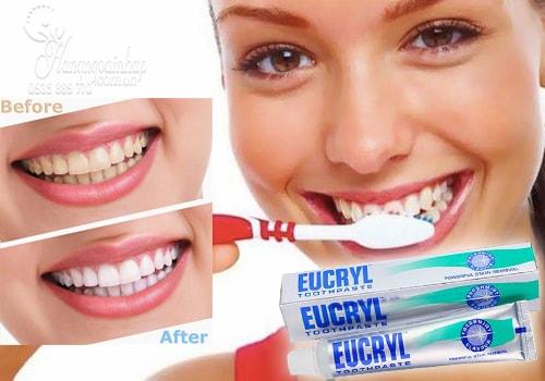 Công dụng của kem đánh răng eucryl