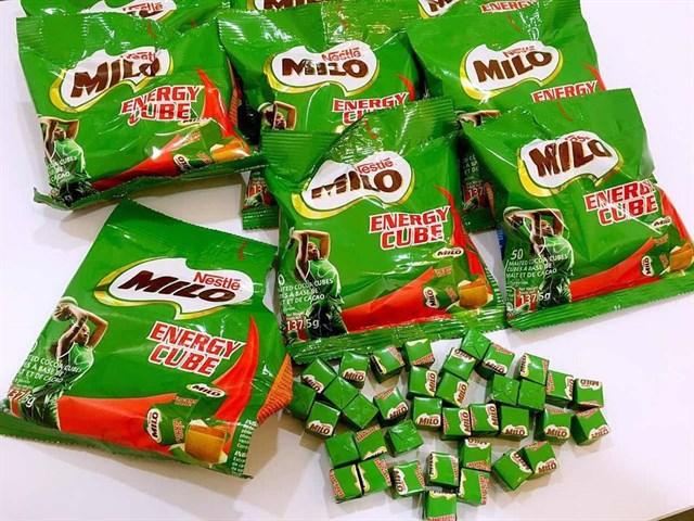 Giới thiệu sơ lược về sản phẩm kẹo milo energy cube