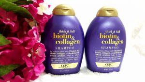 Dầu Gội Và Xã Thick And Full Biotin Collagen Organix Chính hãng Mỹ