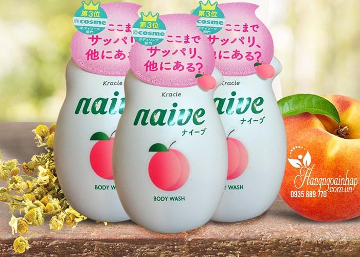 sua-tam-duong-da-kracie-naive-body-wash-530-ml-nhat-ban-1