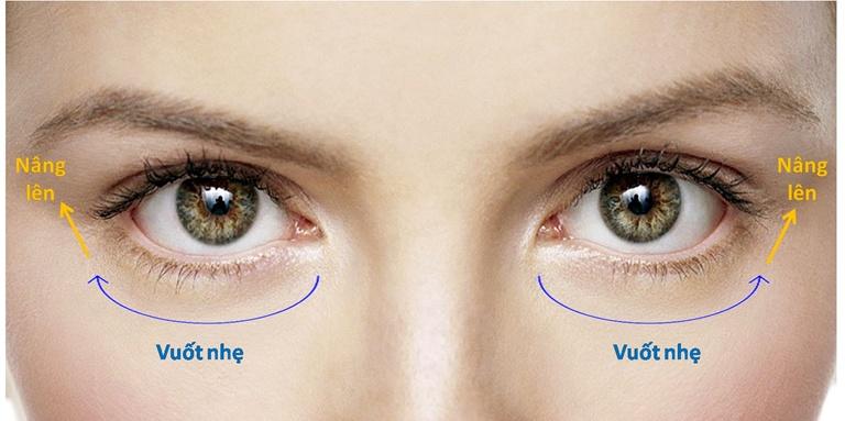 Hướng dẫn sử dụng cách dùng kem mắt giúp tốt đa hóa công dụng