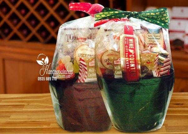 Giỏ quà tết Wine Country Gift Basket - Giá khuyến mãi 500k