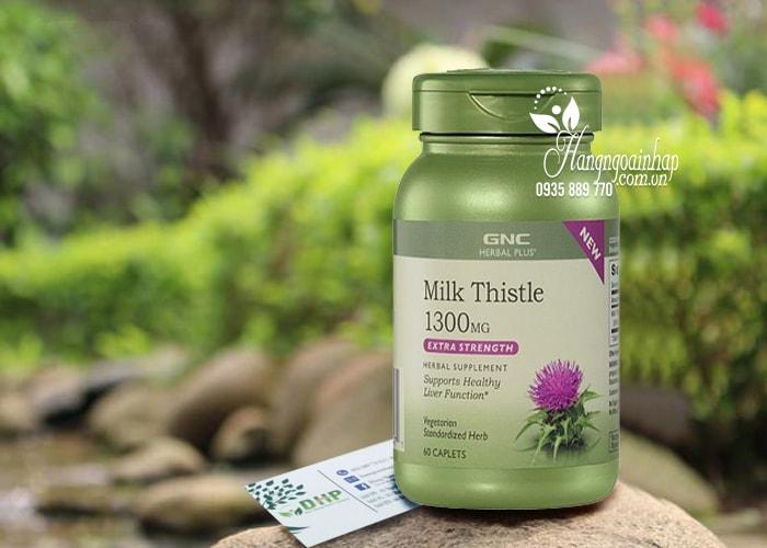 Thuốc Milk Thistle 1300mg GNC