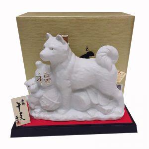 Chai-ruou-sake-hinh-con-cho-trang-Hachiko-720ml-Nhat-Ban-4