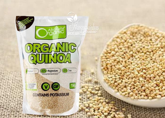 Hạt diêm mạch Absolute Organic Quinoa 1kg của Úc giá bao nhiêu?