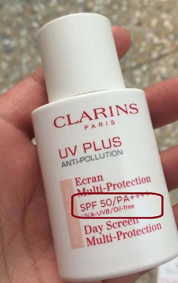 Kem chống nắng Clarins UV Plus SPF 50 PA+++ 1