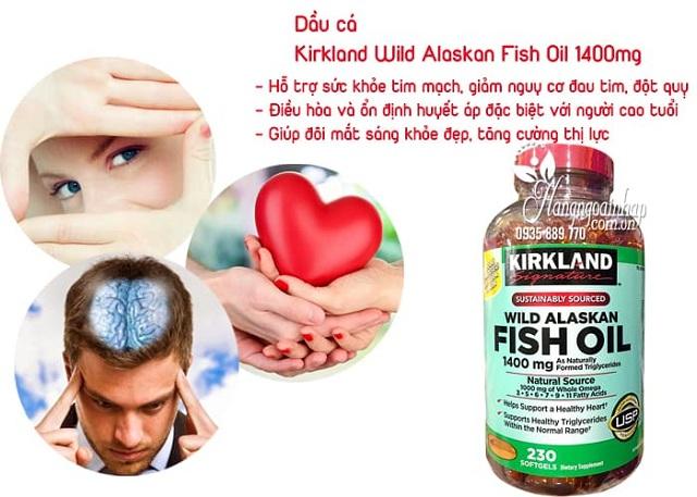 Dầu cá Alaskan Kirkland Fish Oil 1400mg 230 viên 2