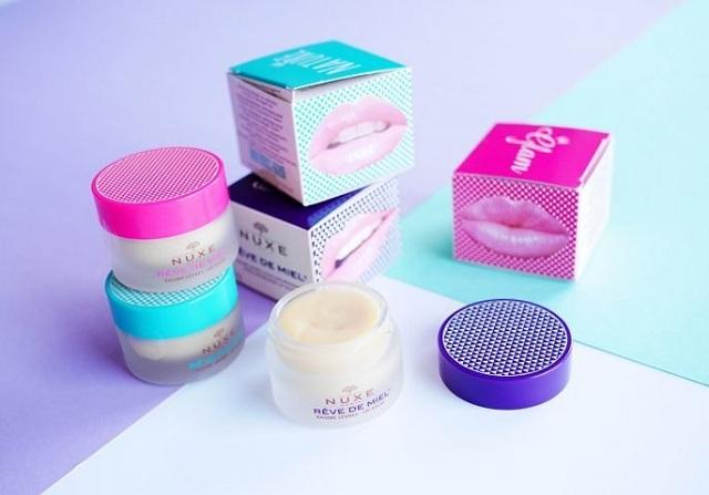 Son dưỡng môi Nuxe Reve De Miel Lip Balm hũ 15g mẫu mới nhất 2