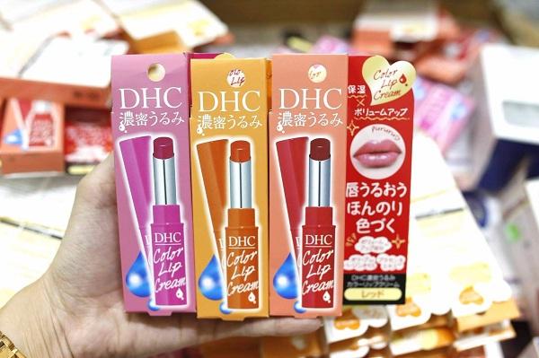 Son dưỡng DHC có màu Color Lip Cream Nhật Bản giá ưu đãi 3