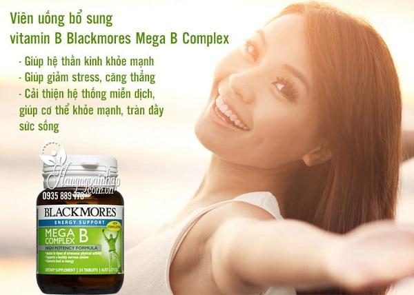 Viên uống Vitamin B tổng hợp Blackmores Mega B Complex 4
