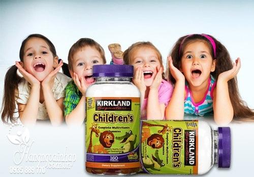 Kẹo dẻo Kirkland Childrens Complete Multivitamin 160 viên của Mỹ 3