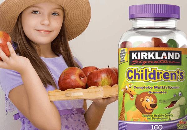 Kẹo dẻo Kirkland Childrens Complete Multivitamin 160 viên của Mỹ 1