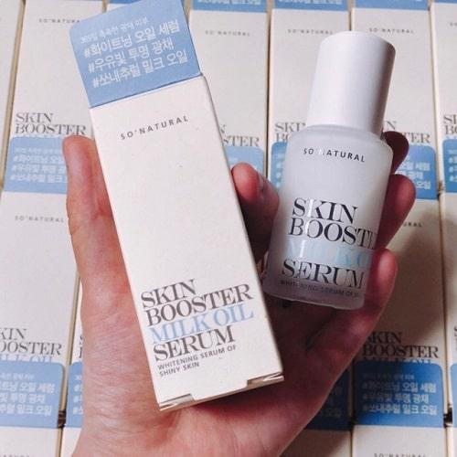 Dưỡng chất Skin Booster Milk Oil giá bao nhiêu-3