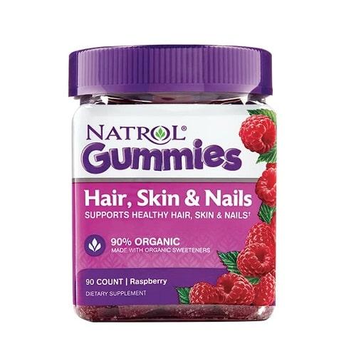 Kẹo dẻo Natrol Gummies Hair Skin Nails có tốt không-2