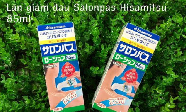 Chai lăn xoa bóp Hisamitsu 85ml giảm đau xương khớp của Nhật 1
