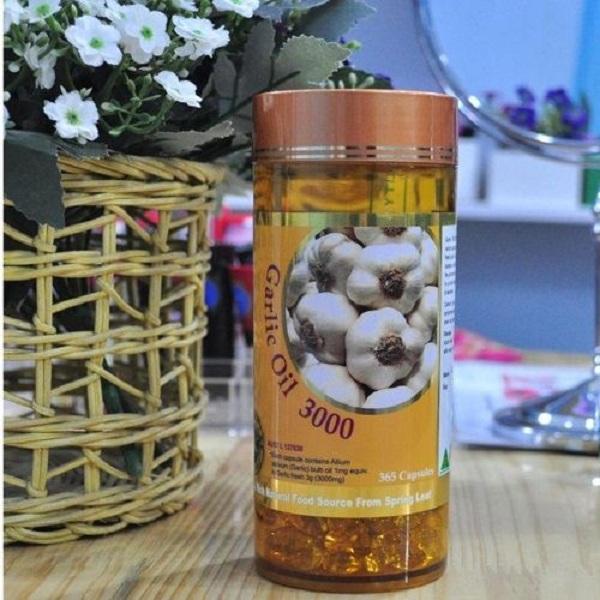 Tinh dầu tỏi Garlic Oil Úc Spring Leaf hộp 365 viên chính hãng 2