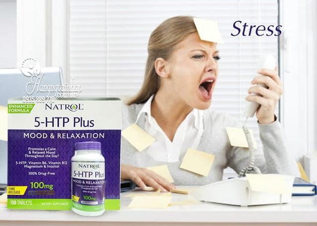 Viên giảm căng thẳng Natrol 5-HTP Mood & Relaxation 100mg 2