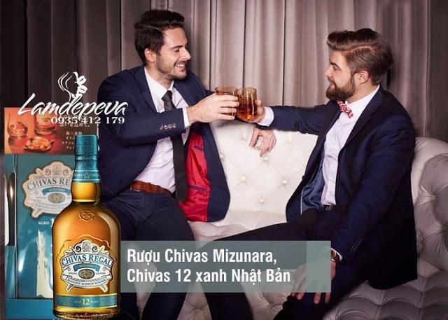 Rượu Chivas 12 xách tay Nhật, Chivas Mizunara Japan giá đại lý 2
