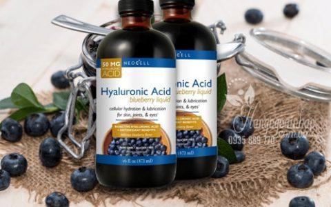 Tinh chất việt quất Neocell Hyaluronic Acid giá bao nhiêu? Mua ở đâu chính hãng?