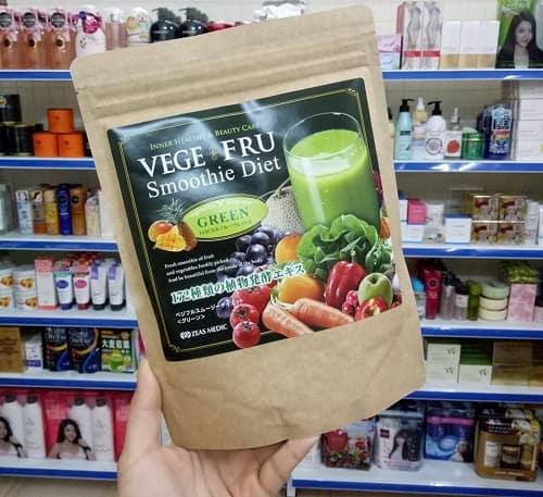 Bột giảm cân Vege Fru Smoothie Diet giá bao nhiêu-3