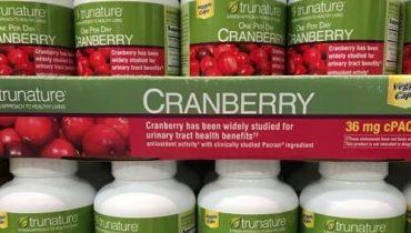 Viên uống Trunature Cranberry 650mg giá bao nhiêu? Mua ở đâu chính hãng?