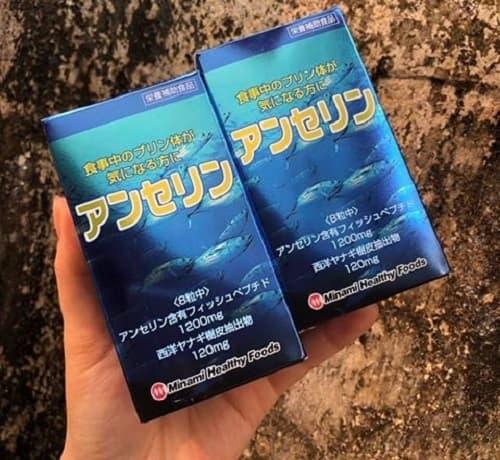 Thuốc trị gout Anserine Minami giá bao nhiêu-3