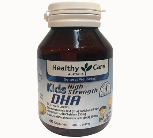 Viên uống DHA Healthy Care cho bé giá bao nhiêu-2