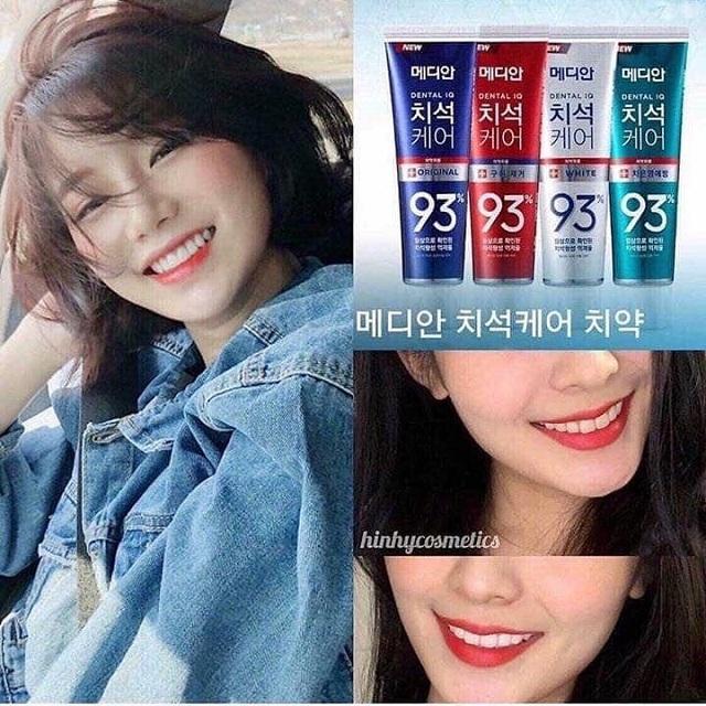 Kem đánh răng Median 86, Median 93% chuẩn Hàn Quốc 1