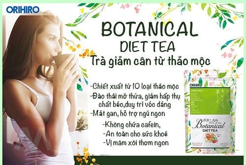 Trà giảm cân Botanical Diet Tea giá bao nhiêu-2