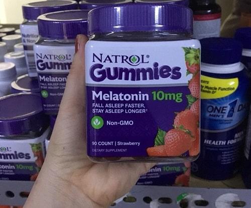 Kẹo ngủ Natrol Gummies Melatonin 10mg giá bao nhiêu-2