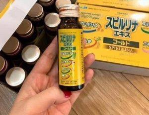 Tảo vàng EX Spirulina dạng nước giá bao nhiêu-1