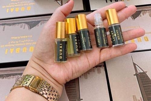 Set 5 tinh dầu nước hoa Dubai mùi nào thơm?
