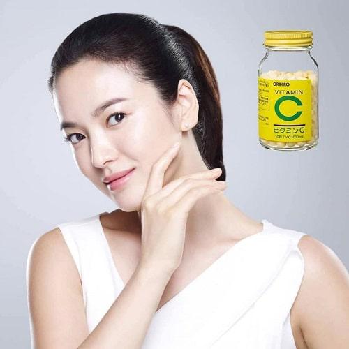 Viên uống vitamin C 1000mg Orihiro giá bao nhiêu