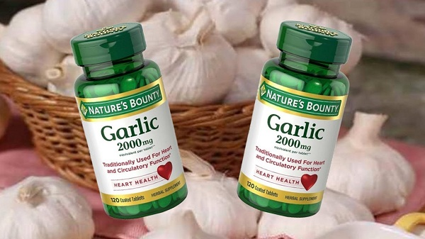 Tinh dầu tỏi Garlic 2000mg Heart Health Nature's Bounty Mỹ 9