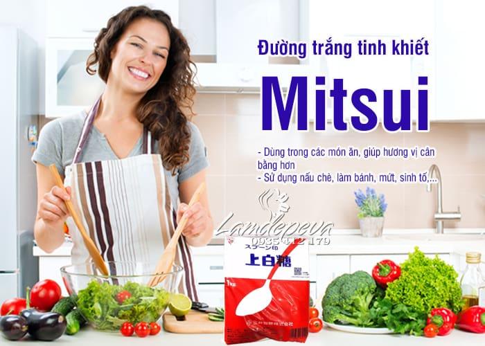 Đường trắng tinh khiết Mitsui 1kg của Nhật Bản, giá rẻ 8