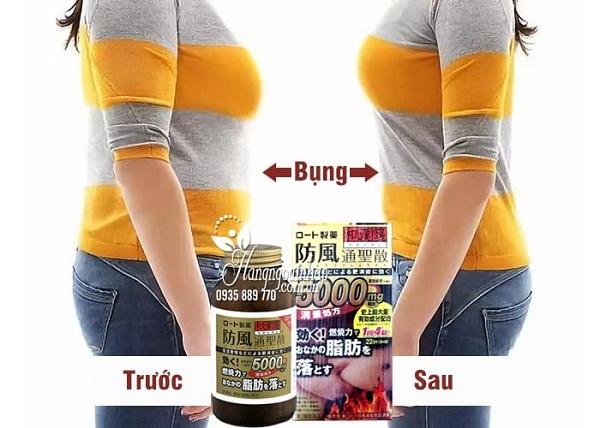 Thuốc giảm cân Rohto 5000mg, đặc trị mỡ bụng của Nhật 2