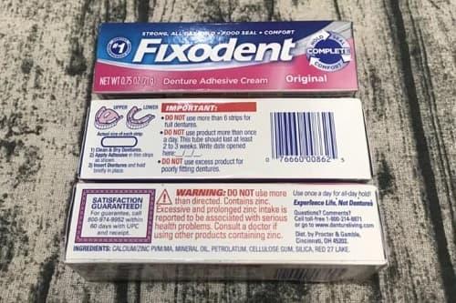 Keo dán răng giả Fixodent giá bao nhiêu-2