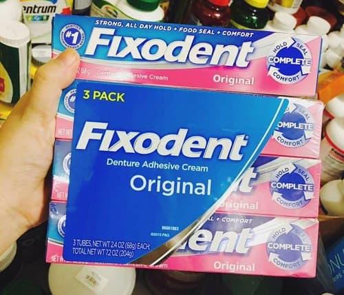 Keo dán răng giả Fixodent giá bao nhiêu-3