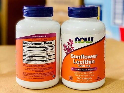 Thuốc chống tắc tia sữa Sunflower Lecithin giá bao nhiêu-3
