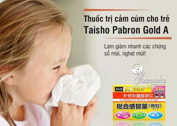 Thuốc cảm cúm Nhật cho bé Taisho Pabron 46 gói giá tốt 1