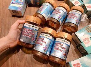 Cách uống viên mầm đậu nành Healthy Care-1