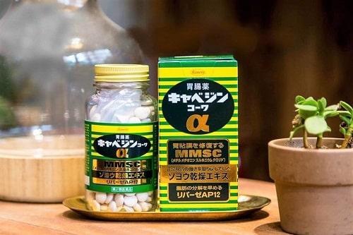 Cách sử dụng thuốc dạ dày Kowa Kyabeijin MMSC-2