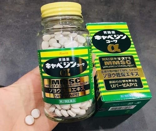 Cách sử dụng thuốc dạ dày Kowa Kyabeijin MMSC-3