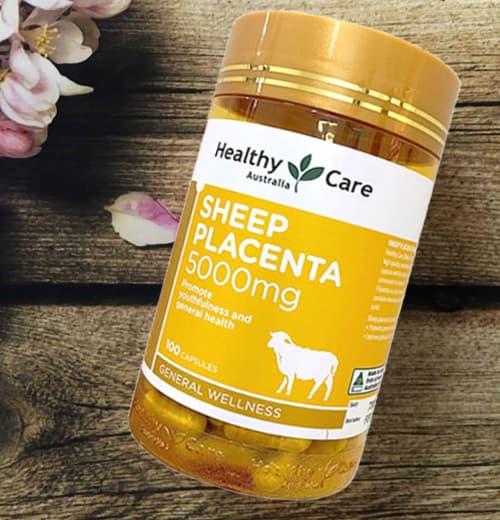 Viên uống Healthy Care Sheep Placenta 5000mg giá bao nhiêu-2