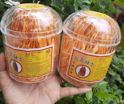 Đông trùng hạ thảo khô Hàn Quốc hộp 45g giá bao nhiêu-2