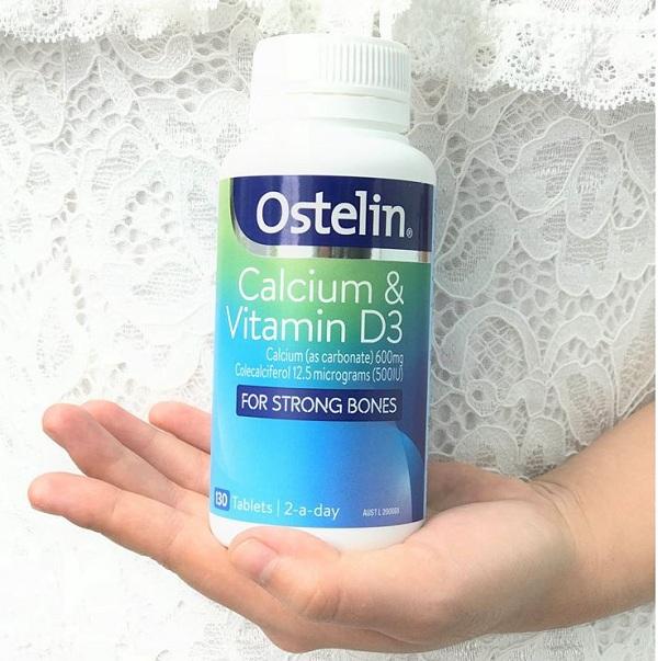 Canxi và vitamin D Ostelin 130 viên Úc mẫu mới giá tốt nhất 8