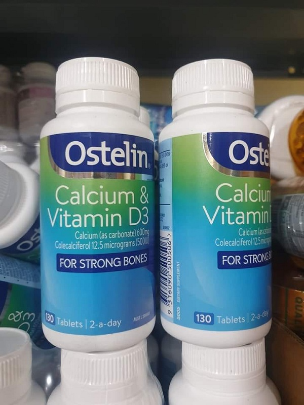 Canxi và vitamin D Ostelin 130 viên Úc mẫu mới giá tốt nhất 3